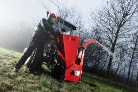 Broyeur de branches derrière tracteur, diamètre 100 mm.