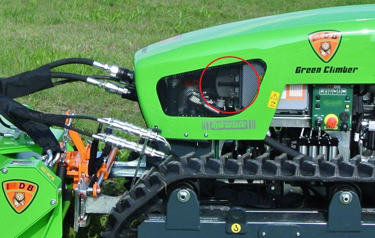 Debroussailleuse de pente radio-commandée FSI LV500