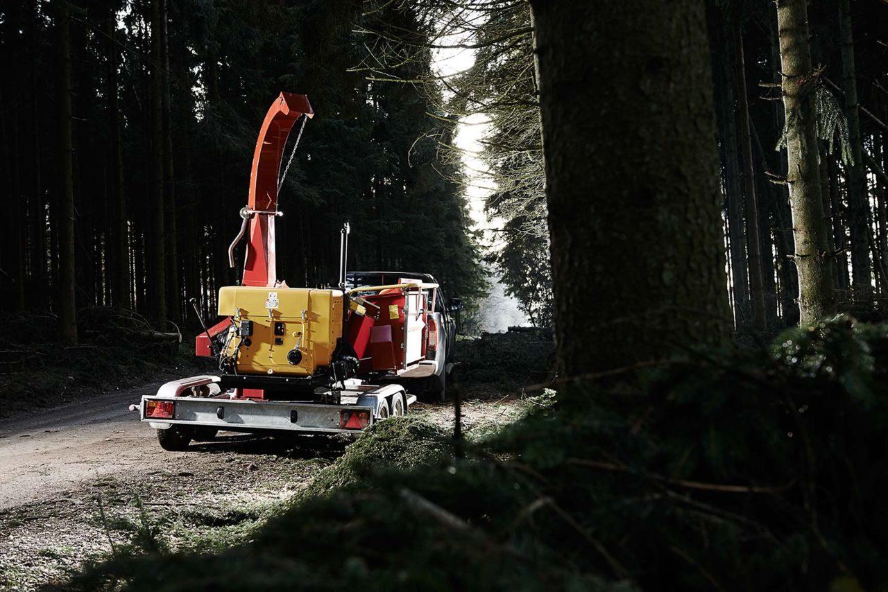 Broyeur de branches thermique diam tre 250 mm - Broyeur de branches thermique ...