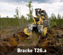 Matériel reboisement et exploitation BRACKE T 26 A